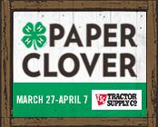 175x140 TSC Paper Clover - Use in emails, newsletters