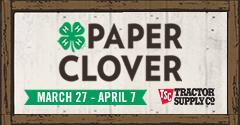240x125 TSC Paper Clover - use on websites, emails