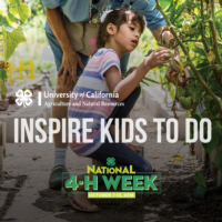 1. National 4-H Week-Garden