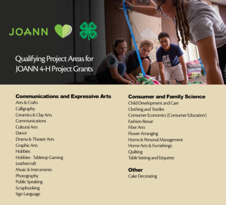 JOANN qualifying projects