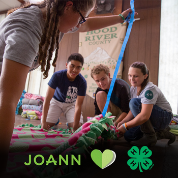 JOANN hearts 4-H logo only- 800x800 sized for Instagram and Facebook