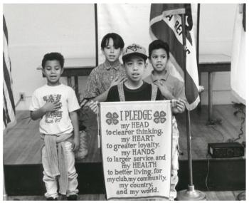 1980s 4-H Pledge