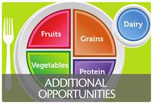 Healthy Living Additional Opportunities