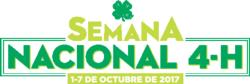 National 4-H Week 2017 logo- Spanish
