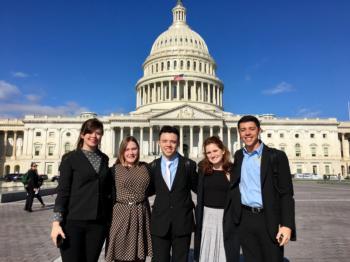 2017 California 4-H delegation